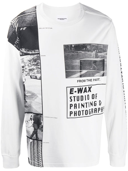 Patch Graphic Long Sleeve T-Shirt