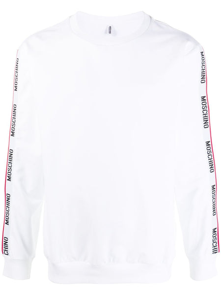 White Tape Sweatshirt