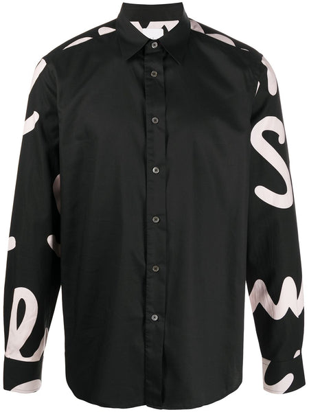 Black Graphic Arms Shirt