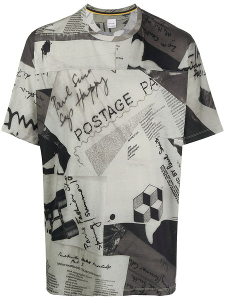 Postage Montage Graphic T-Shirt