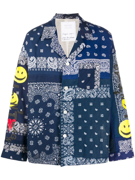 Bandanna Patch Shirt
