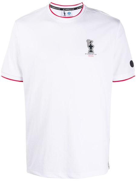 White Red Outline T-Shirt