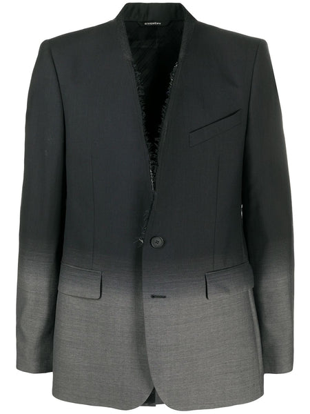 Gradient Blazer Black Grey