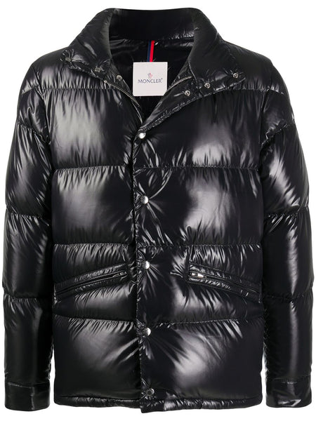 Patent Finish Padded Jacket
