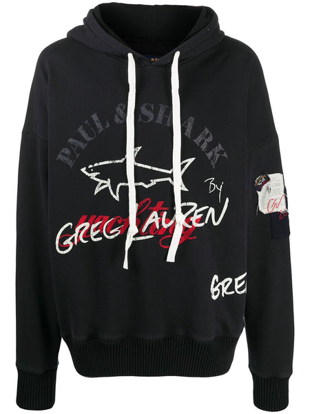Logo-Print Hooded Sweatshirt