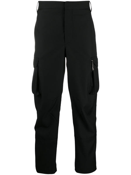 Cargo Pocket Trousers Black