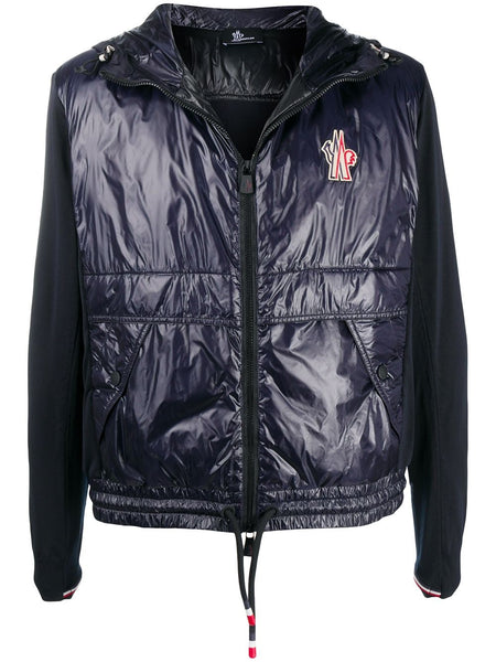 Padded Zip-Up Hooded Jacket