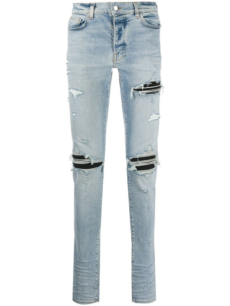 Distressed Skinny-Fit Jeans