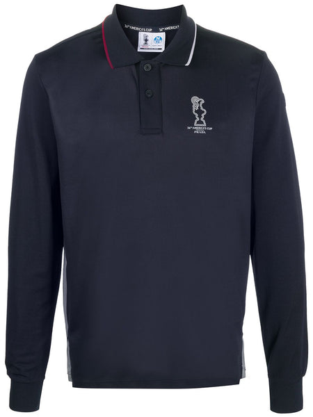 America's Cup Long-Sleeve Polo Shirt