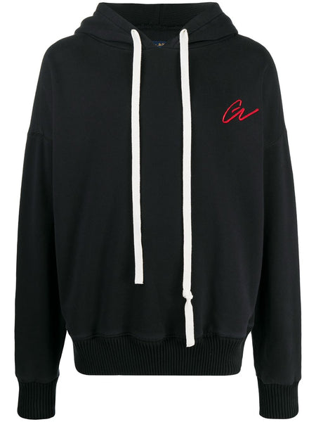 Slouchy Logo Embroidered Hoodie