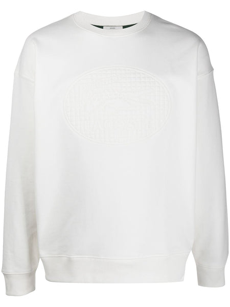 Embossed-Logo Sweatshirt