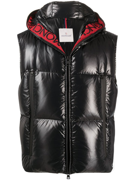 Logo Hooded Gilet