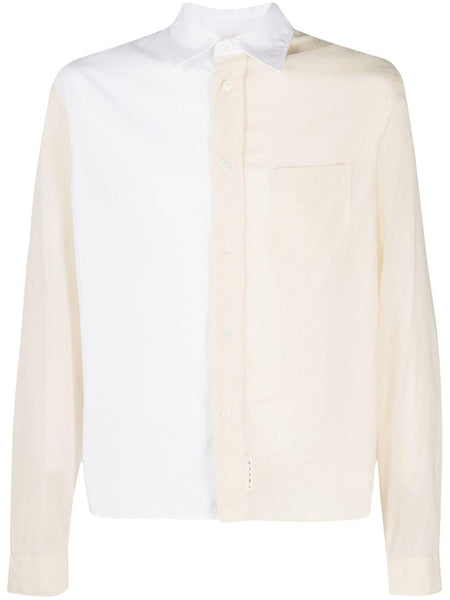 Panelled Two-Tone Shirt