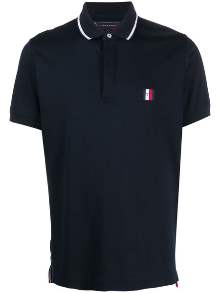 Logo-Patch Polo Shirt