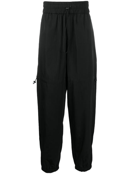 Drawstring-Waist Track Trousers