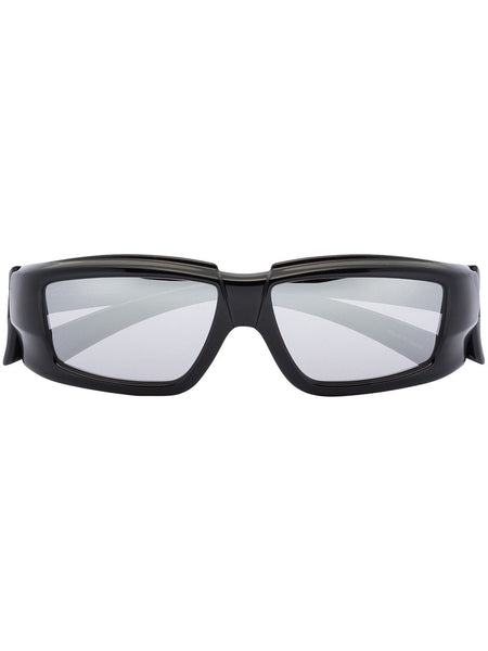 Rectangle-Frame Sunglasses