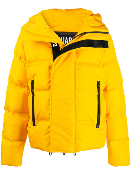 Yellow Down Padded Jacket