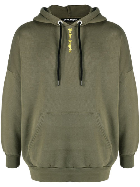 Ns Logo Over Hoody  Military Yellow