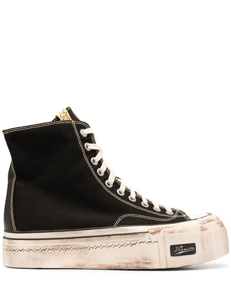 Hi-Top Black Sneakers