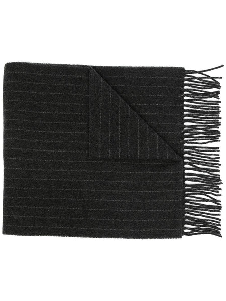 Pinstripe Knitted Scarf