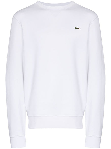 Logo-Patch Long-Sleeve Sweatshirt