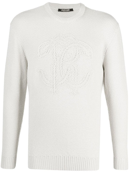 Raised Logo Wool Jumper