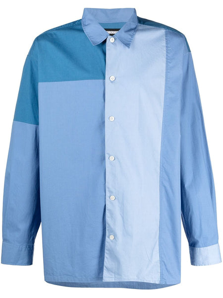 Panelled Cotton Shirt