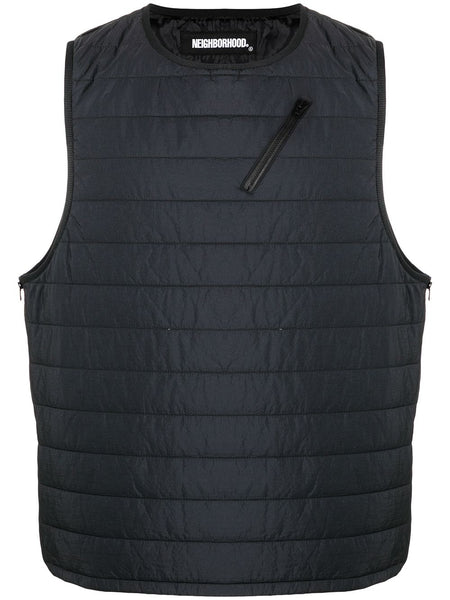 Puff Zip-Pocket Nylon Gilet