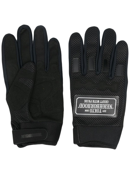 Racing Logo Patch Gloves