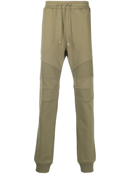 Ribbed Panel Track Pants