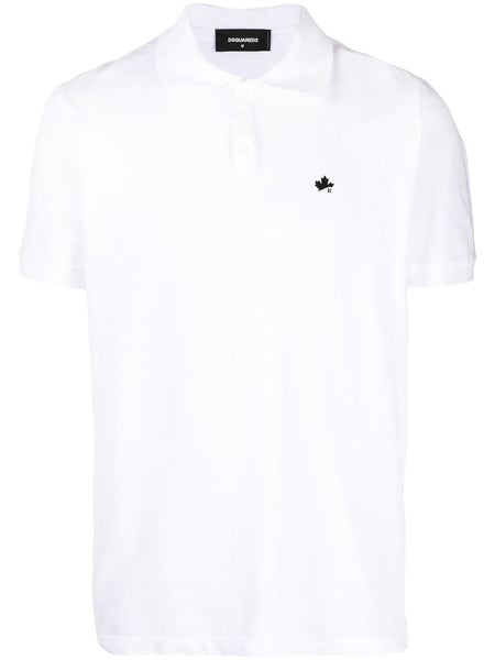 White Polo Maple Leaf
