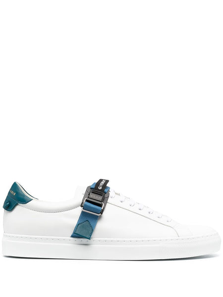 Logo-Strap Low-Top Sneakers