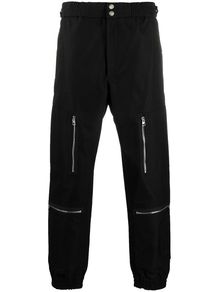 Black Zip Sweatpants