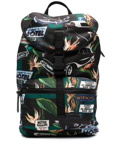 Graphic Print Backpack
