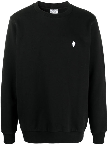Embroidered-Logo Long-Sleeve Jumper