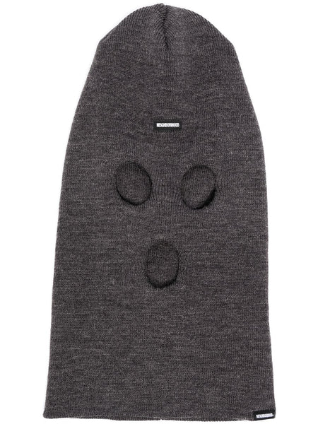 Logo-Patch Knitted Balaclava
