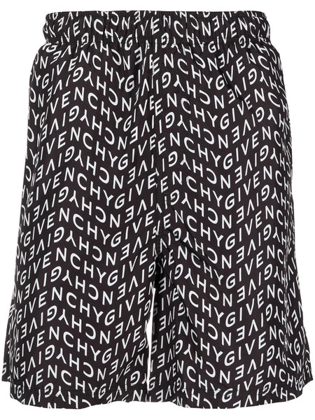 Logo Pattern Swimming Shorts