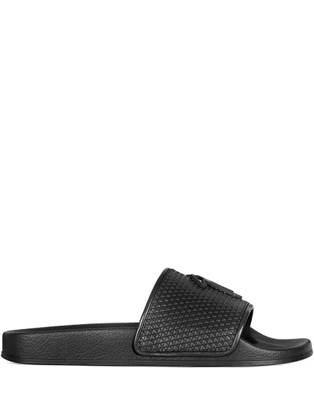 Brett Leather Slides