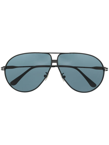 Aviator-Frame Tinted Sunglasses