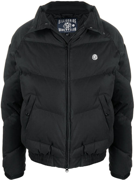 Logo-Patch Padded Jacket