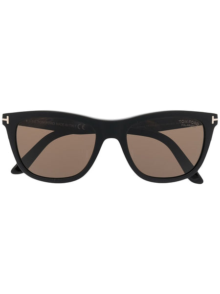 Square-Frame Tinted Sunglasses