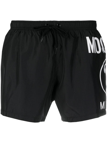 Double Question Mark Swimming Shorts
