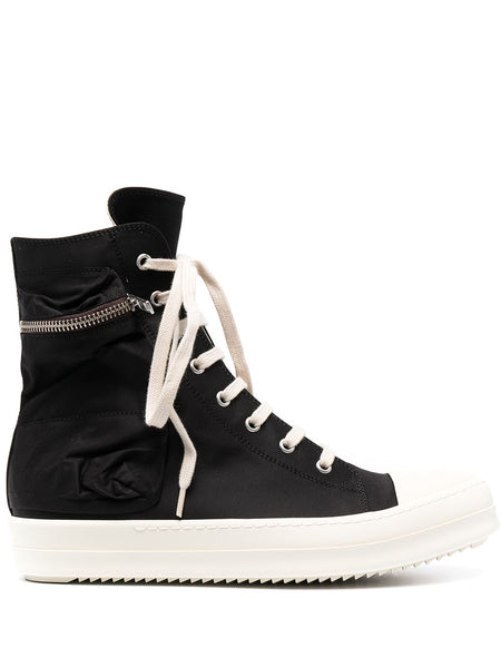 High-Top Lace-Up Trainers