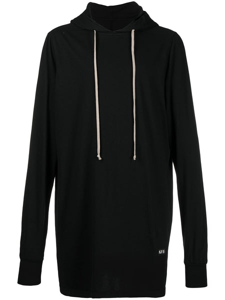 Long Cotton Hoodie