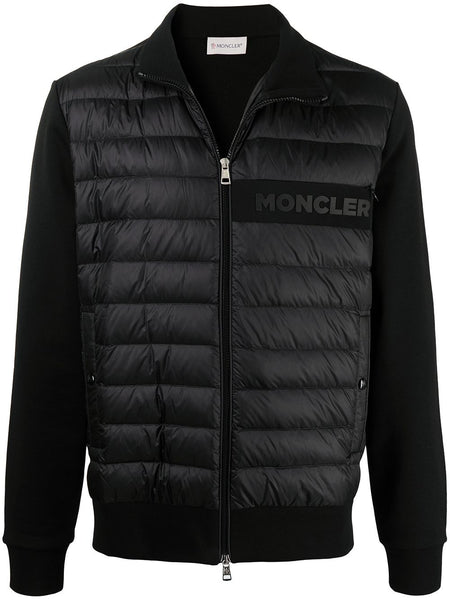 Down-Feather Zip-Up Jacket