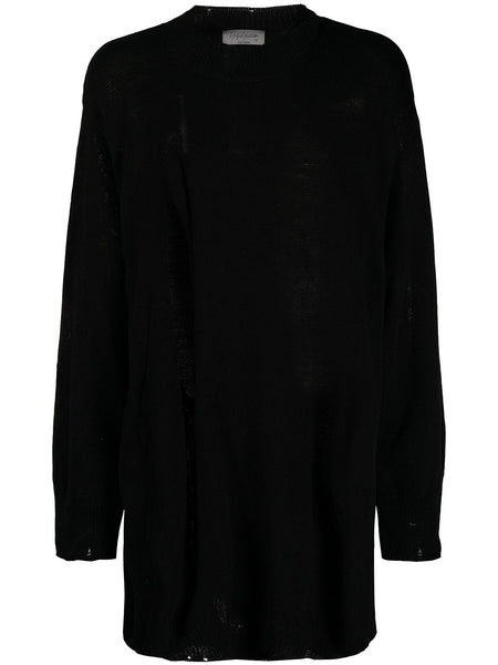 Distressed Long-Line Jumper