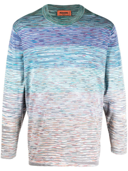 Striped Long-Sleeve Jumper