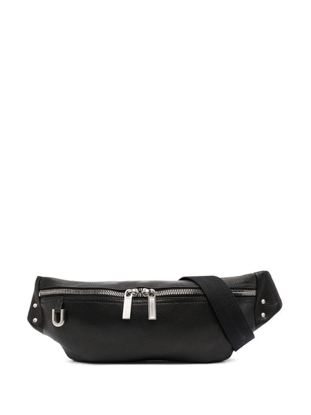 Geo Pebbled-Effect Belt Bag