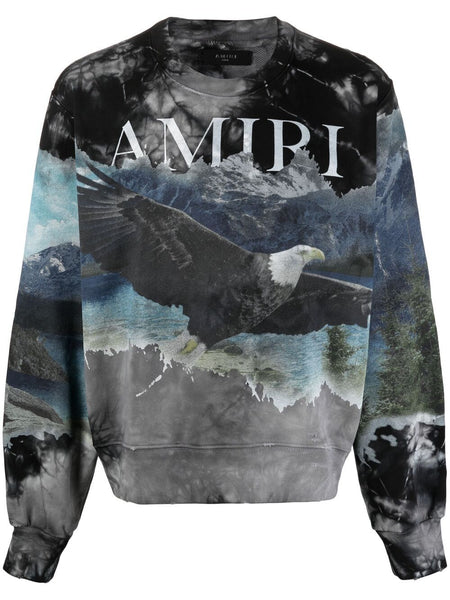 Eagle-Print Jumper