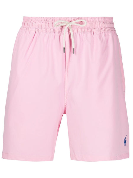 Polo Pony-Embroidered Track Shorts